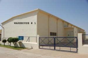 Warehousing facility for Psyllium and Senna